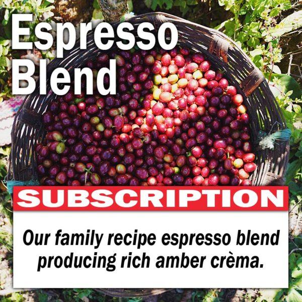 Espresso Blend - Subscription