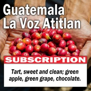 Guatemala La Voz Atitlan - Subscription