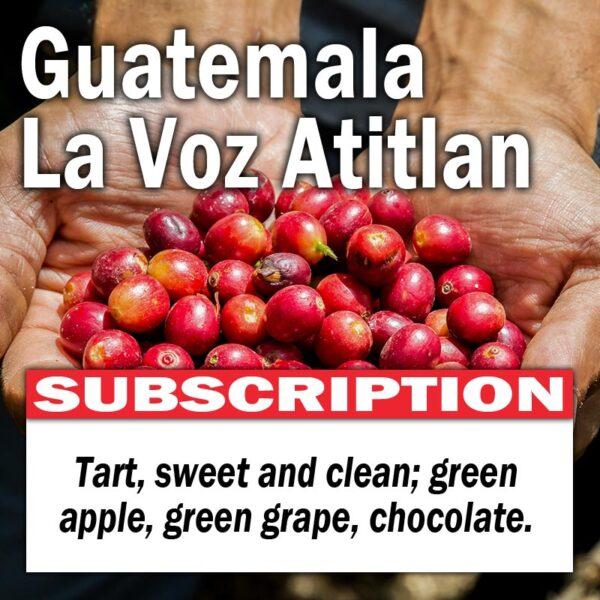 Guatemala La Voz Atitlan - Subscription