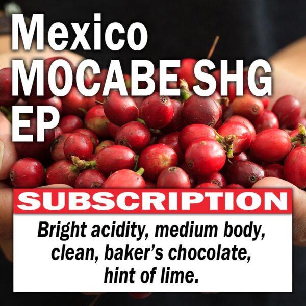 Mexico MOCABE SHG EP - Subscription