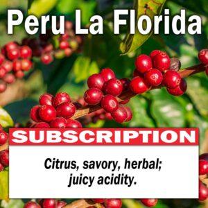 Peru La Florida - Subscription